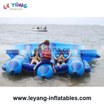 Fly Fish Water Sports Popular Inflatable Water Boat Sea Marine Fly Towable Boat