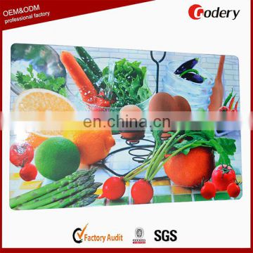 High quality table pvc woven placemats