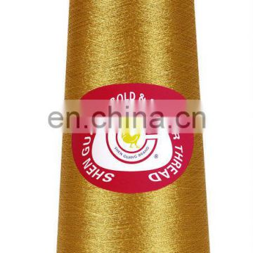Quality Fluroescent metallic embroidery thread