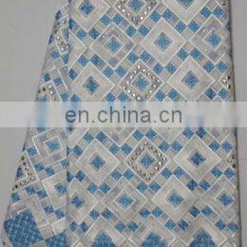 wholesale 2013 high quality swiss voile lace fabric cotton