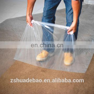 Direct Sale Cleaning Floor PE Dust Free Protective Films For Hard Floor
