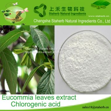 Chlorogenic acid/Eucommia extract/327-97-9/Release heat