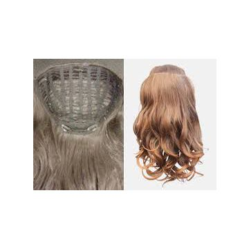 No Shedding Fade Human Hair Synthetic Hair Extensions No Damage