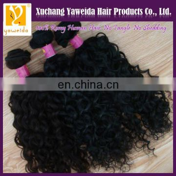 Good quality!!! On sale curl wave human hair extensions top selling products in alibaba