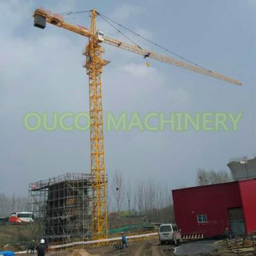 OUCO electric self raising tower crane manufacturer