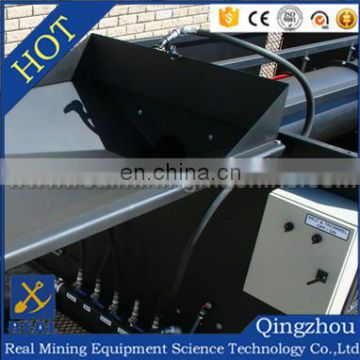 Made in China High Capacity mobile gold washing plant gold trommel screen diamond recovery machine