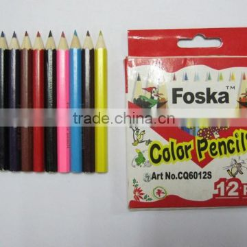 "3.5"" natural wooden colour pencil 12pcs 7"" color pencil set                                                                         Quality Choice"