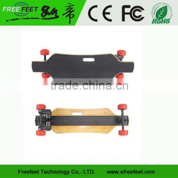 New Arrival No Foldable Brushless Motor Electric Skateboard Dual Drive Electric Longboard Factory
