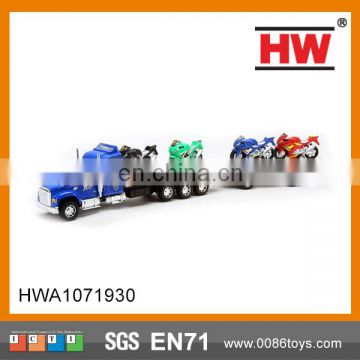 64 cm Spray Plating Inertial Tow Car Head Toy Truck