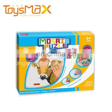 New Inventions Kindergarten Colorful Educational Diy Puzzle