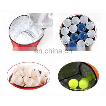 customized high quality golf ball bag hockey badminton ball bag ball holder with your logo