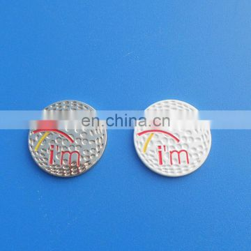 golf ball designed golf ball marker/ magnetic ball marker for golf