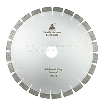 350mm granite saw blade for cutting hard granite with high quality
