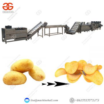 French Fries Production Line Frozen Fries Processing Plant