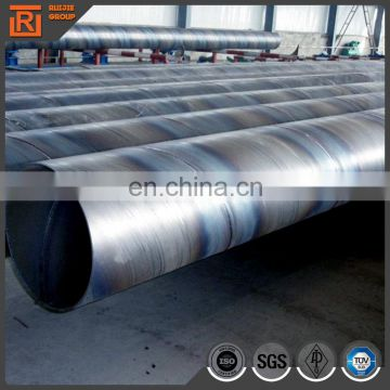 500mm diameter 12mm thickness ssaw steel pipe, API 5L certificate spiral steel pipe factory