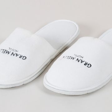 ELIYA embroidered customized logo china bedroom slippers hotel for women