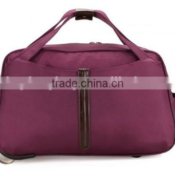 Factory Price Travel Trolley Luggage Bag New Design Travel Bags on Wheels LXB014