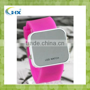 MA-1099 2013 New Arrival Hot Selling Factory Direct Sell Silicone led Touch Screen Watches