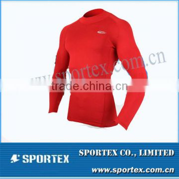tight professional running wear/ long sleeve tight shirt / men's compression sportswear for men