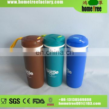Active Flip Fashional Plastic Drinking Hot Water Filter Bottle
