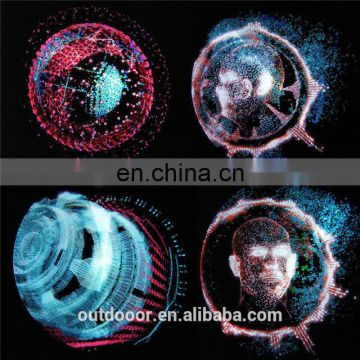 Chinese supplier wifi app Hot Popular holographic 3d led fan display , 3D Hologram Projection Fan 3d hologram advertising fa