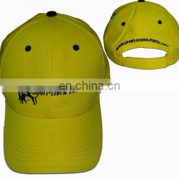 Embroidery Unisex Unstructured Cotton Adjustable Plain Hat Cap