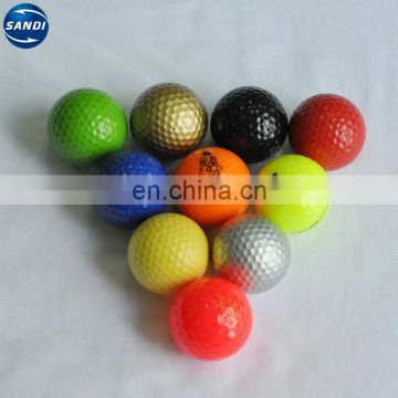 colour golf ball