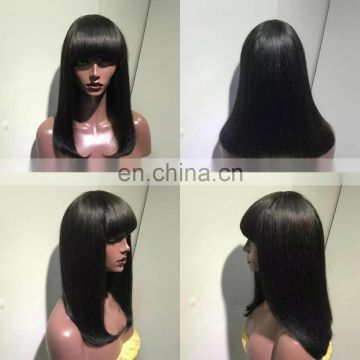 150g-200g per pieces wig sample hand made pre sew Peruvian Brazilian Hair