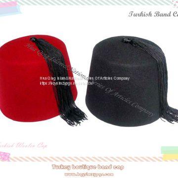 Fez wool cap / Turkish Cap / Fez cap / Muslim wool cap of