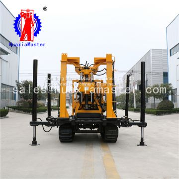 XYD-200 tank Outlook Diamond Core Machine Hydraulic Rotary Water Well Drilling Rig From China