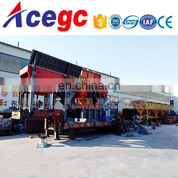 Construction Material Mobile crushing machine for sale