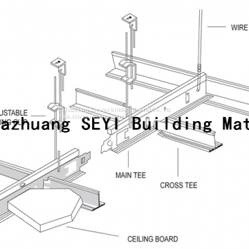 Ceiling Suspension Grids, Ceiling T Bar/Standard T Bar