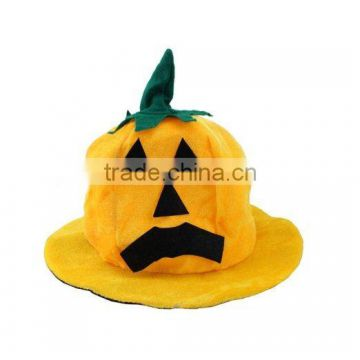 Witch Hats Costume Party Props Halloween Pumpkin Plush Hat Cap