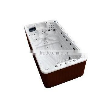 Outdoor Massage Pool Spa / Swim Pool With Outdoor Spa Acrylic Whirlpool Massage Outdoor Spa Bath Swimming Pool Spa