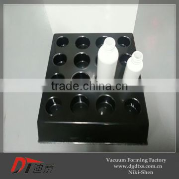 black round plastic serving vacuum forming tray