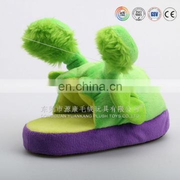 2015 latest design for cute animal soft ladies indoor plush slippers and shoes