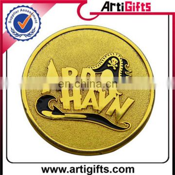 Promotion cheap custom souvenir coin with chinese style