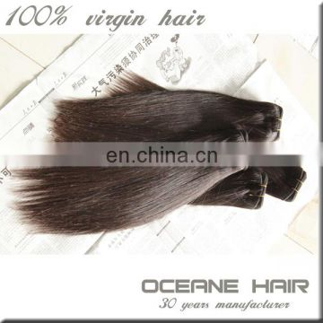 No chemical processed can be dyed and bleached natural virgin brazilian straight hair