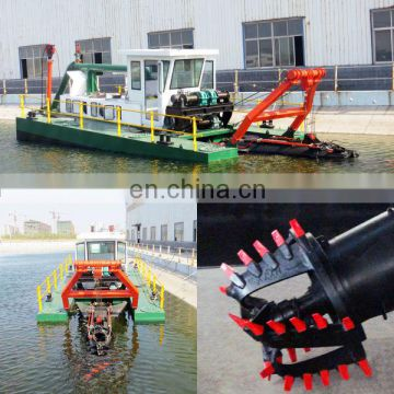 Small cutter suction dredger