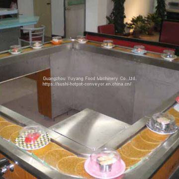 Sushi conveyor belt designed & made by factory directly