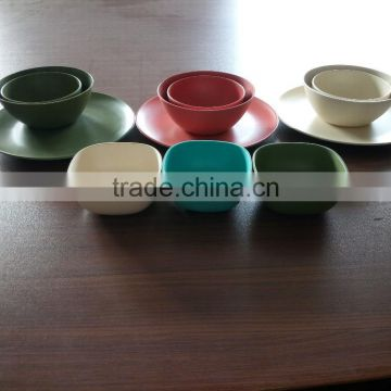 bamboo fiber tableware set