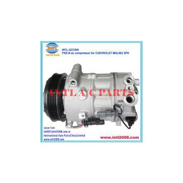 PXE16 ac compressor for CHEVROLET MALIBU 5pk pulley