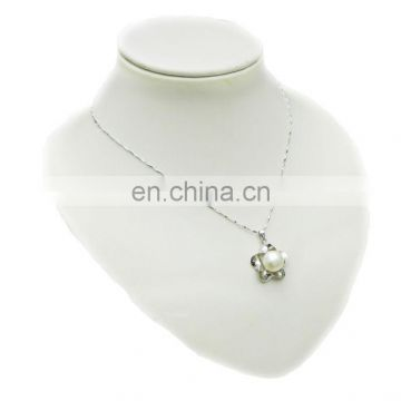 Women's pearl necklace for engagement or marriage--925 silver chains