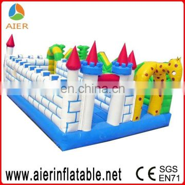 8m bounce house inflatable bouncer moonwalk jumper jump bouncy castle