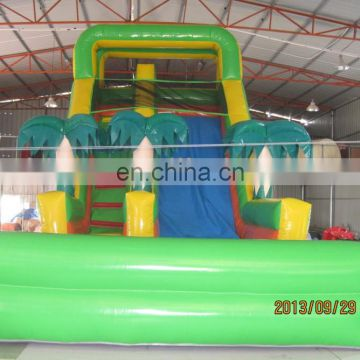 Empire inflatable coco slide, coconut palm inflatable slide DS089