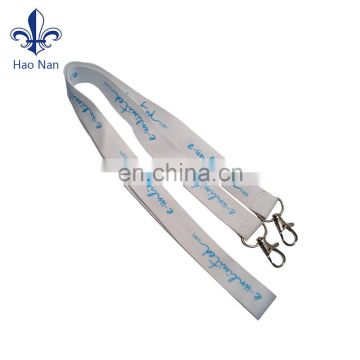 Promotional items customized printed lanyard with polyester