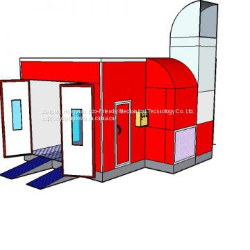 Automotive Spray Booth for sale