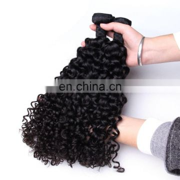 No shedding top quality no chemical virgin brazilian hair curly