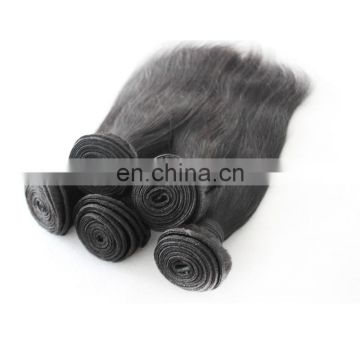Remy raw human hair extension unprocessed virgin straight cambodian hair weaving