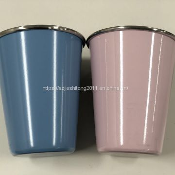 Safety and reliability Colorful Romantic Aluminum Candle Cup